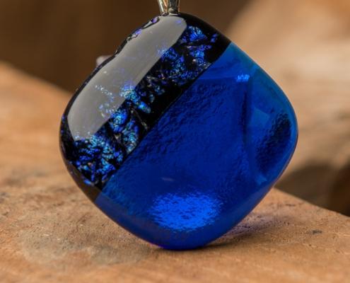 Glashanger blauw Blue One
