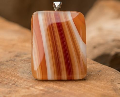 Glashanger bruin Brown Striped